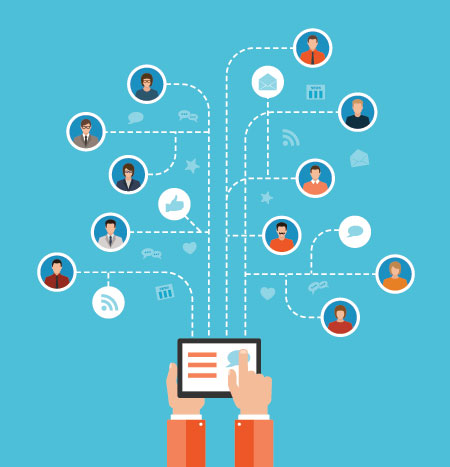 ipad linking to many different topics